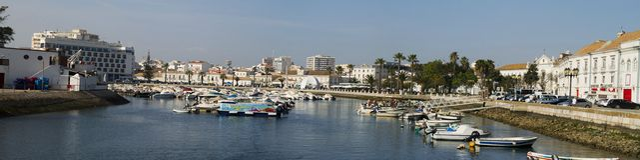 Puerto deportivo de Faro Foto de archivo