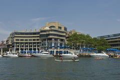 Puerto deportivo de Georgetown Fotografía de archivo