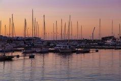Puerto deportivo de Helsingborg Fotos de archivo