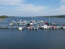 Puerto deportivo de Hoover Foto de archivo libre de regalías