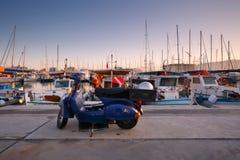 Puerto deportivo de Kallithea en Atenas Imágenes de archivo libres de regalías