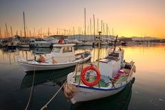 Puerto deportivo de Kallithea en Atenas Fotos de archivo libres de regalías