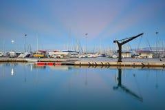 Puerto deportivo de Kallithea en Atenas Imagen de archivo libre de regalías