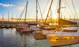 Puerto deportivo de Knysna Fotos de archivo