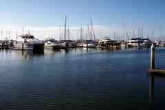 Puerto deportivo de la bahía de Hervey Imagen de archivo