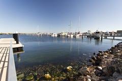 Puerto deportivo de la bahía de Jurien imágenes de archivo libres de regalías