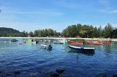 Puerto deportivo de la naturaleza Foto de archivo