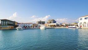 Puerto deportivo de Limassol, Chipre imágenes de archivo libres de regalías