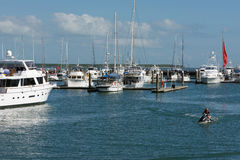 Puerto deportivo de los mojones Imagenes de archivo