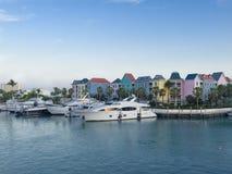 Puerto deportivo de lujo del yate Foto de archivo