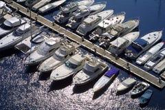 Puerto deportivo de Mónaco Foto de archivo