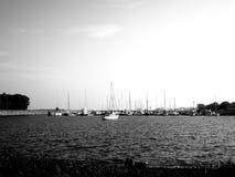 Puerto deportivo de Manitowoc Imagen de archivo