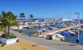 Puerto Deportivo de Marbella, España Imagen de archivo libre de regalías