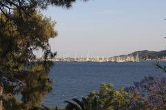 Puerto deportivo de Marmaris Fotografía de archivo