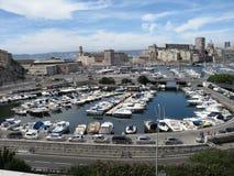 Puerto deportivo de Marsella Foto de archivo libre de regalías