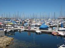 Puerto deportivo de Monterey Fotos de archivo