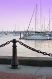 Puerto deportivo de Newport fotografía de archivo libre de regalías