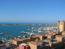 Puerto deportivo de Oporto - costa del norte imagen de archivo libre de regalías
