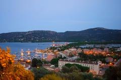 Puerto deportivo de Oporto Vecchio Fotos de archivo