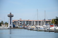 Puerto deportivo de Puerto Vallarta fotografía de archivo libre de regalías