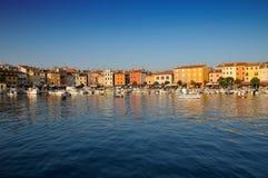 Puerto deportivo de Rovinj Foto de archivo libre de regalías