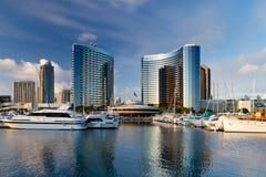 Puerto deportivo de San Diego Imagen de archivo libre de regalías