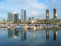 Puerto deportivo de San Diego Fotos de archivo libres de regalías