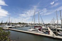 Puerto deportivo de Scarborough imagen de archivo libre de regalías