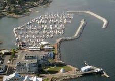 Puerto deportivo de Sidney Foto de archivo libre de regalías