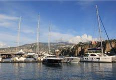 Puerto deportivo de Sorrento Foto de archivo libre de regalías
