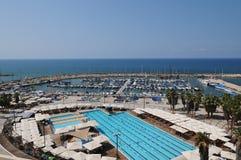 Puerto deportivo de Tel Aviv, Israel Imagen de archivo libre de regalías