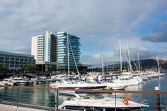 Puerto deportivo de Troia Foto de archivo libre de regalías