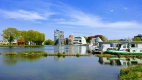 Puerto deportivo de Turnhout Imagen de archivo libre de regalías
