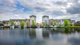 Puerto deportivo de Turnhout Foto de archivo