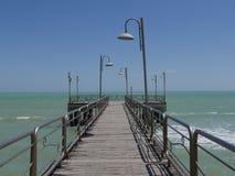 Puerto deportivo de Vasto Fotografía de archivo