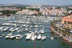 Puerto deportivo de Vilamoura Imagen de archivo