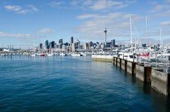 Puerto deportivo de Westhaven - Auckland Fotos de archivo
