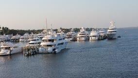 Puerto deportivo del Palm Beach Imagen de archivo libre de regalías