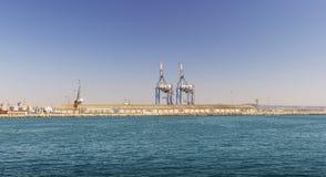 Puerto deportivo del puerto Chipre, Larnaca Fotografía de archivo libre de regalías