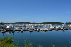 Puerto deportivo del puerto de Roche, Washington Imagen de archivo