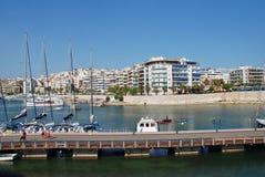 Puerto deportivo del Zea, Atenas Imágenes de archivo libres de regalías