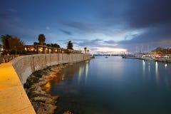Puerto deportivo del Zea, Atenas Fotografía de archivo libre de regalías