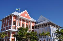 Puerto deportivo en Bahamas Imagen de archivo libre de regalías