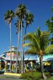Puerto deportivo en Bahamas Imagenes de archivo