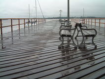 Puerto deportivo en Colonia, Uruguay. Fotografía de archivo libre de regalías