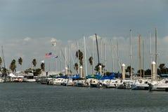 Puerto deportivo en Corpus Christi Fotografía de archivo libre de regalías