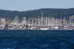 Puerto deportivo en el Sun Fotografía de archivo