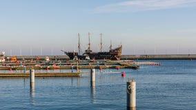 Puerto deportivo en Gdynia Fotos de archivo libres de regalías
