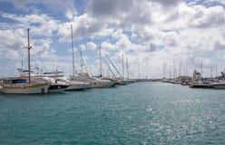 Puerto deportivo en Limassol, Chipre Fotografía de archivo
