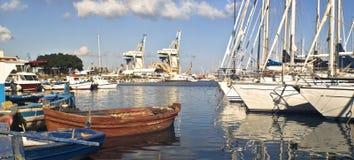 Puerto deportivo en Palermo Fotos de archivo